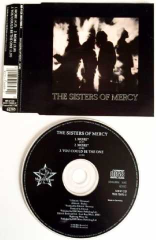 Sisters Of Mercy ‎(The) - More (CD Single) (VG-/G+)